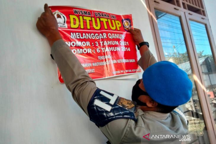 Pemkab Aceh Barat tutup losmen tanpa izin usaha dan langgar syariat