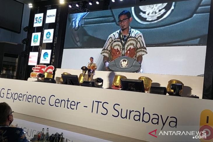 Menparekraf resmikan pusat teknologi 5G di ITS