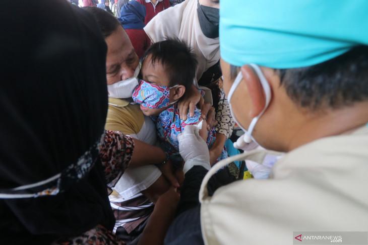 Vaksinasi Covid-19 ODGJ dan Disabilitas di Kediri