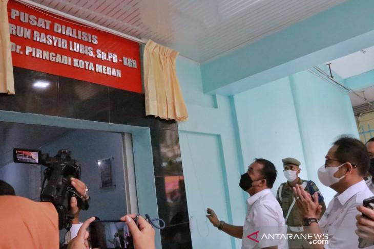 Prof dr Harun Rasyid Lubis jadi nama ruangan di RS Pirngadi