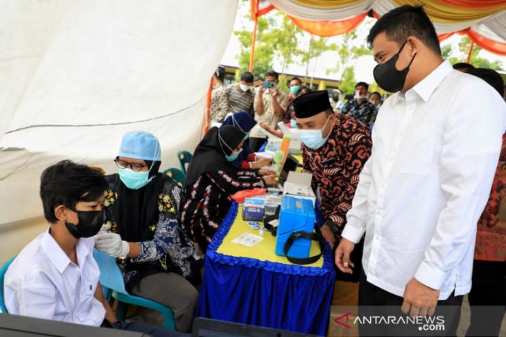 Pemkot Medan percepat vaksinasi pelajar untuk persiapan PTM