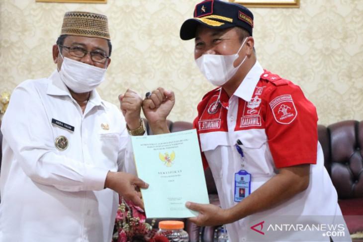Kemenkumham Gorontalo terima tanah hibah untuk bangun Rutan