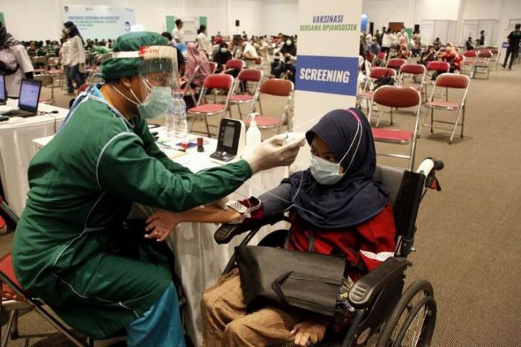 Capaian vaksinasi di Kota Surakarta