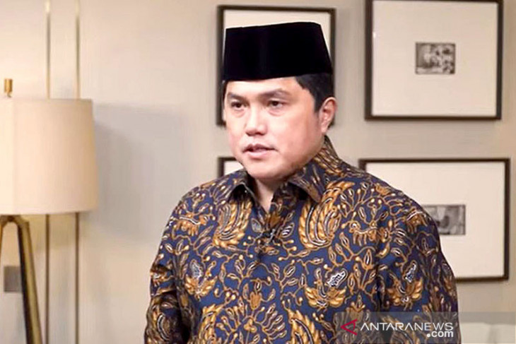 Tegas, Menteri Erick Thohir pastikan tidak ada tempat bagi teroris di BUMN