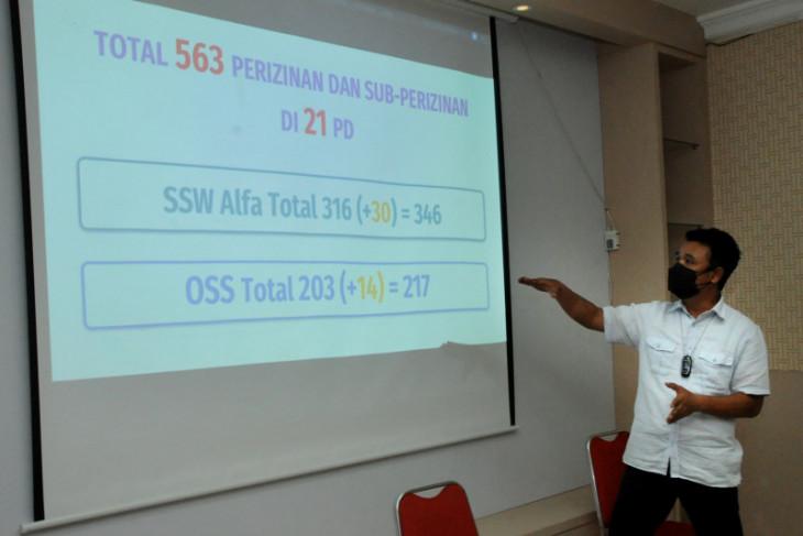 Aplikasi izin usaha SSW Alfa di Surabaya masih terkendala sistem di pusat