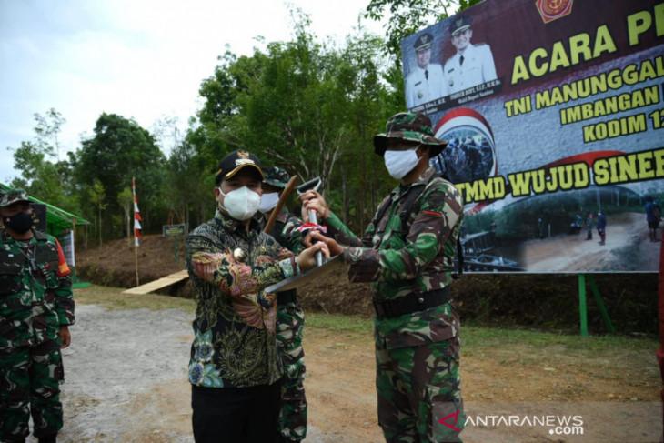 TNI-Masyarakat bisa bersama-sama bangun perbatasan