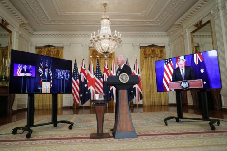 AS dan Inggris beri Australia teknologi kapal selam nuklir untuk imbangi China