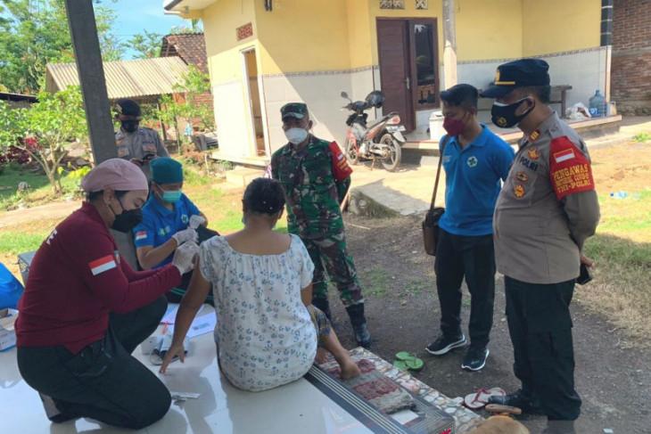 Tim gabungan Kecamatan Negara laksanakan vaksinasi ibu hamil