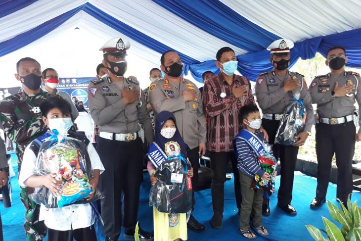 Polres Kediri Kota asuh 72 anak yatim piatu korban COVID-19