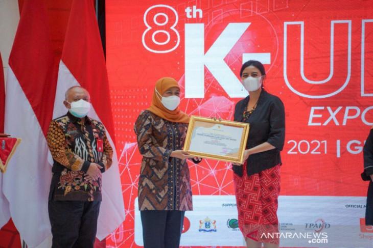UMKM Batik Kota Probolinggo raih juara pertama UKM berprestasi di Jatim
