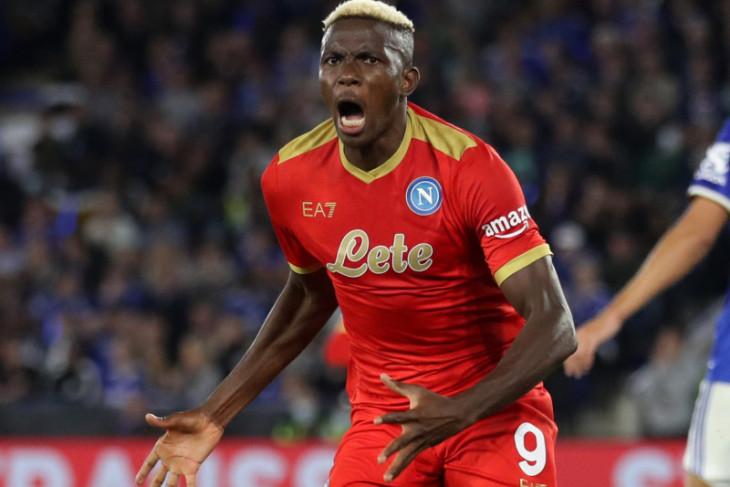 Napoli imbangi Leicester, Lyon kalahkan Rangers