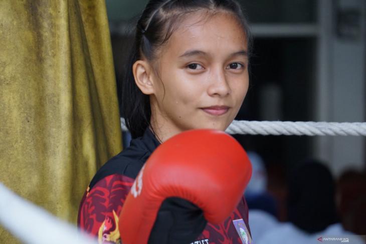 Atlet Gorontalo Silfana Mahmud incar emas cabang muaythai PON Papua