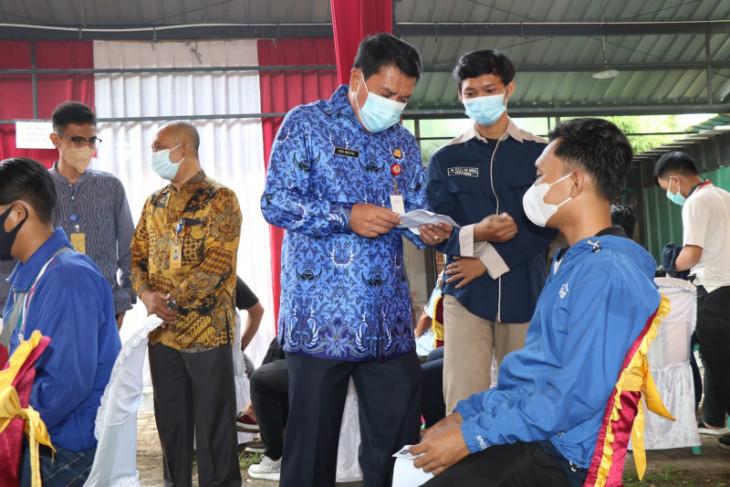 Pemkab Tangerang-STF Muhammadiyah laksanakan vaksinasi bagi 1.000 mahasiswa