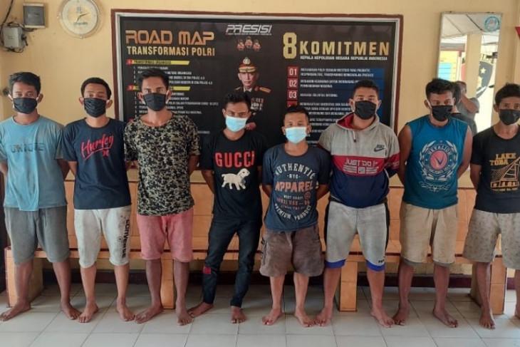 Polisi ringkus pencuri kabel MVTIC milik PLN di Simalungun
