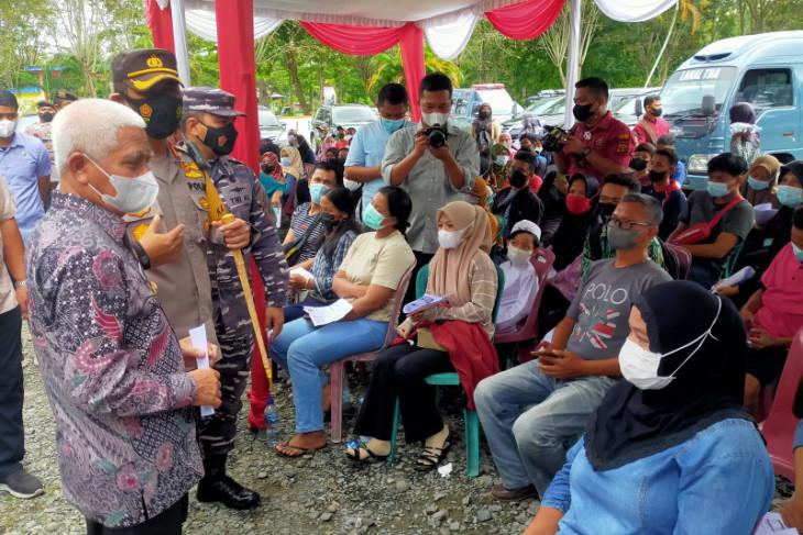 Bupati Asahan targetkan 597 ribu warga terima vaksinasi