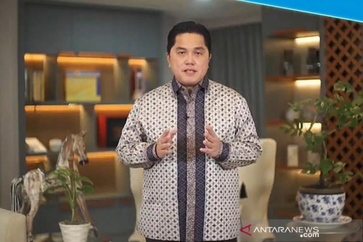 Mimpi terbesar Erick Thohir yaitu transformasi BUMN agar berkelanjutan