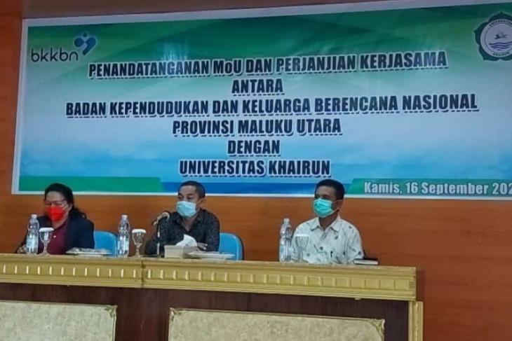 BKKBN Malut - Unkhair Ternate sosialisasi penanganan kekerdilan intensifkan sosialisasi