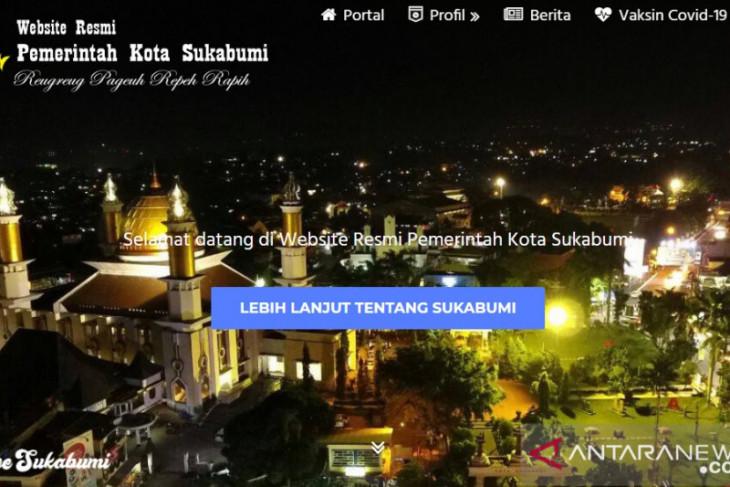 Website resmi Pemkot Sukabumi kerap jadi sasaran peretasan