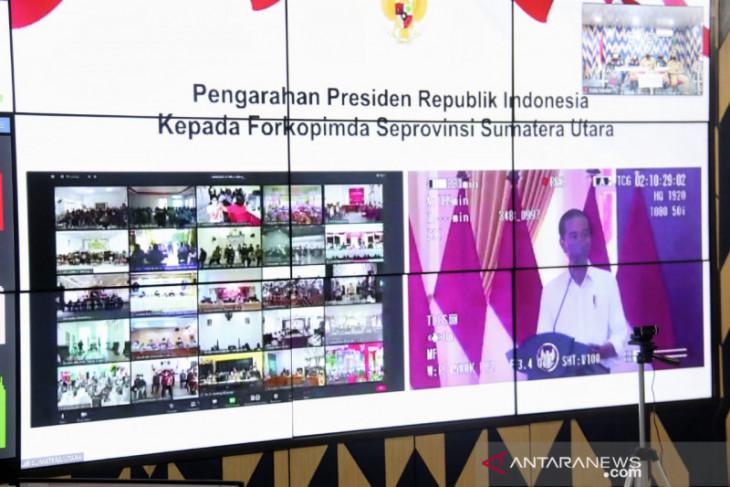 Aulia ikuti arahan Presiden Jokowi secara virtual