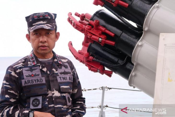 Patroli TNI AL tidak temukan ribuan kapal di Laut Natuna Utara