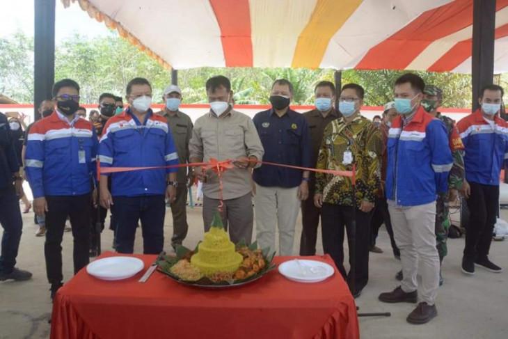 Wabup Ketapang resmikan SPBU 3T di Desa Lalang Panjang