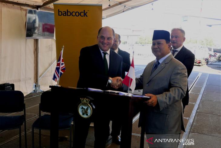 Indonesia-Inggris sepakati kerja sama pembuatan kapal fregat AL