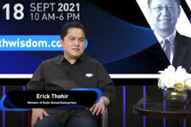 Erick Thohir: Telkom fokus ke B2B, Telkomsel fokus ke
