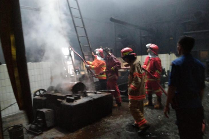 Pabrik pengolahan Kopi AAA Jambi terbakar