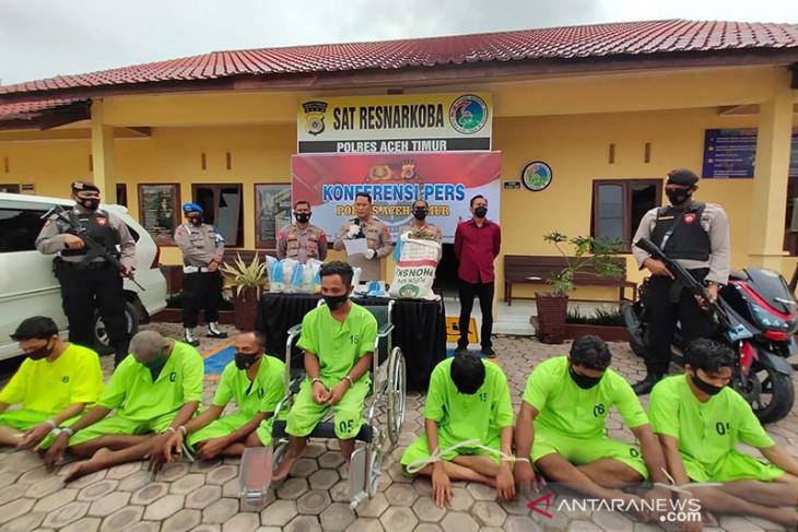 Edarkan narkoba sampai ke Bali, Polisi tangkap penyandang disabilitas