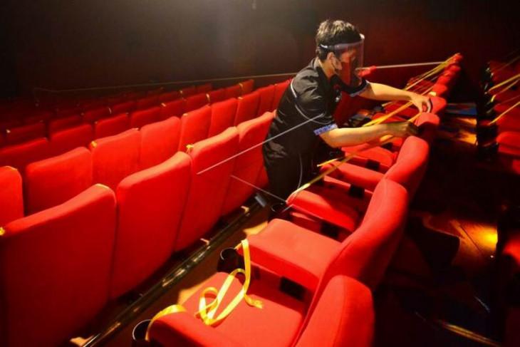 Pembukaan kembali bioskop di Kudus