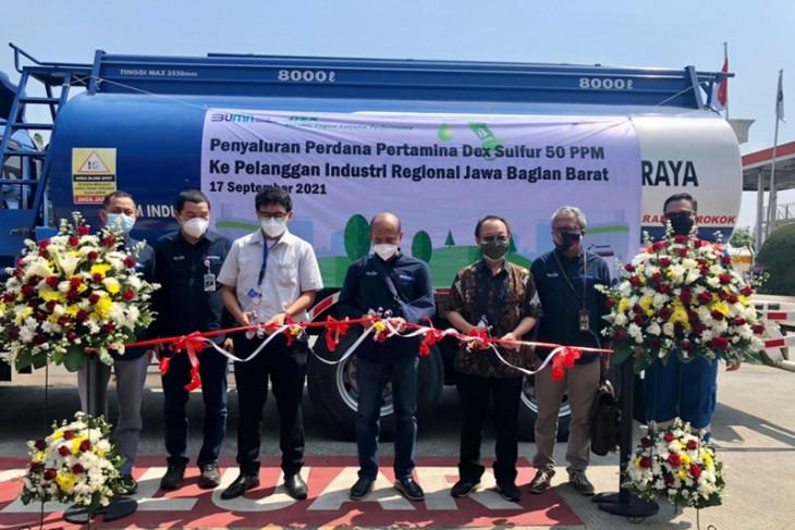 Pertamina Salurkan Produk Dex 50 PPM Perdana di Indonesia