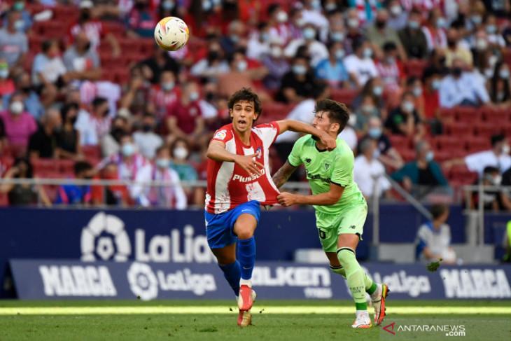 Atletico Madrid ditahan imbang Athletic Bilbao