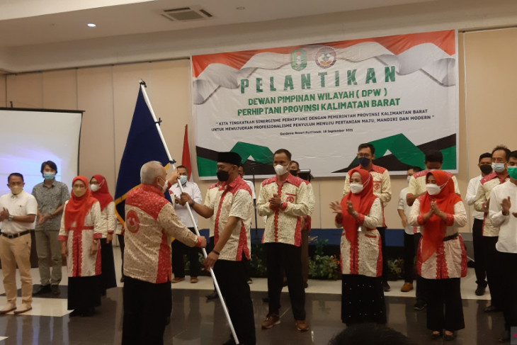 DPW Perhiptani Kalbar siap jadi ujung tombak pertanian