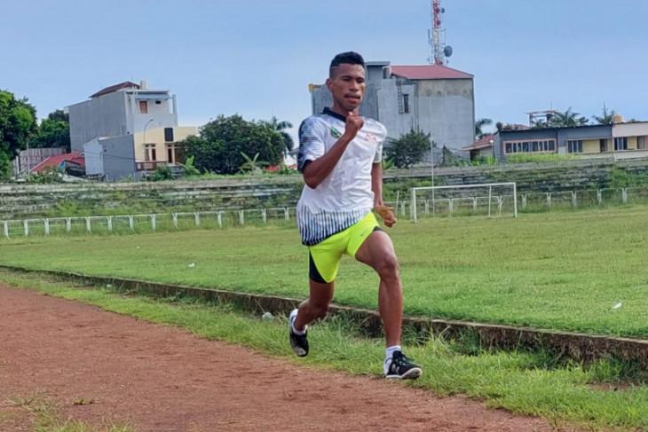 PON Papua - Malut targetkan atletik sumbang satu medali di PON Papua tunjukkan prestasi