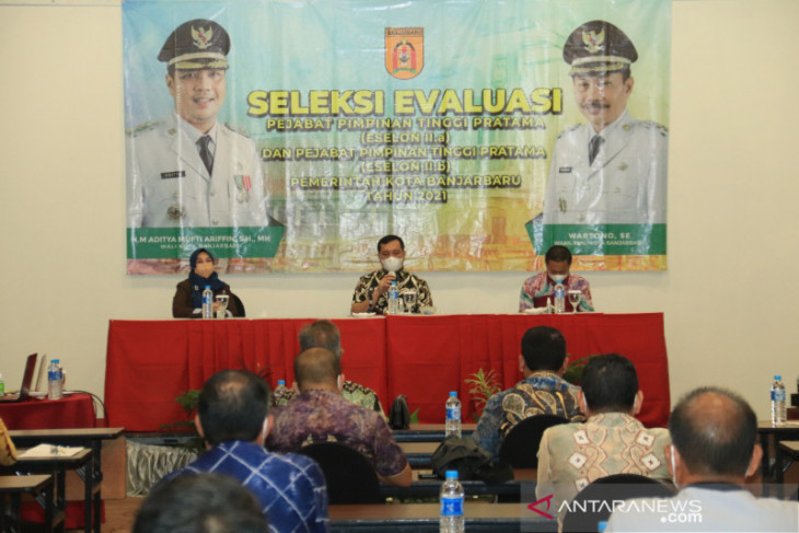 Wali Kota dan wawali evaluasi jabatan sekda dan kepala SKPD
