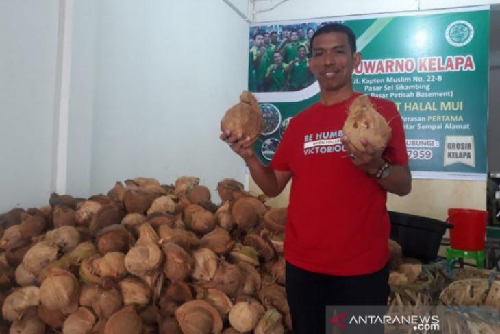 Wali Kota Medan pilih  tukang kelapa jadi dirut Perumda Pasar