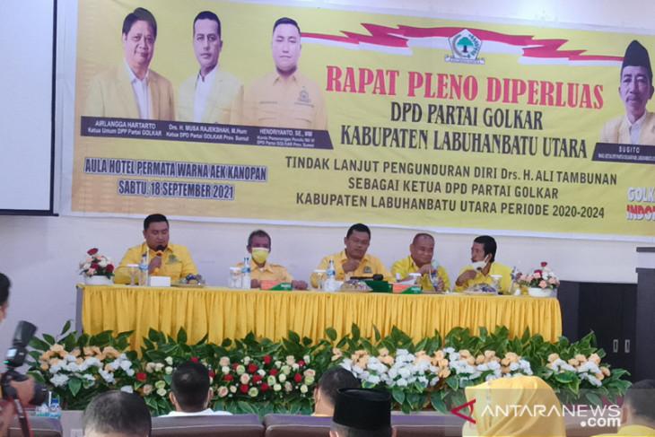 Hendriyanto Sitorus jadi Plt Ketua Golkar Labura