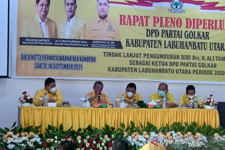 Terpilih jadi Plt Ketua DPD Labura, ini tugas Hendriyanto