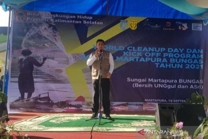 Korem 101/Antasari dukung pelestarian  Sungai Martapura