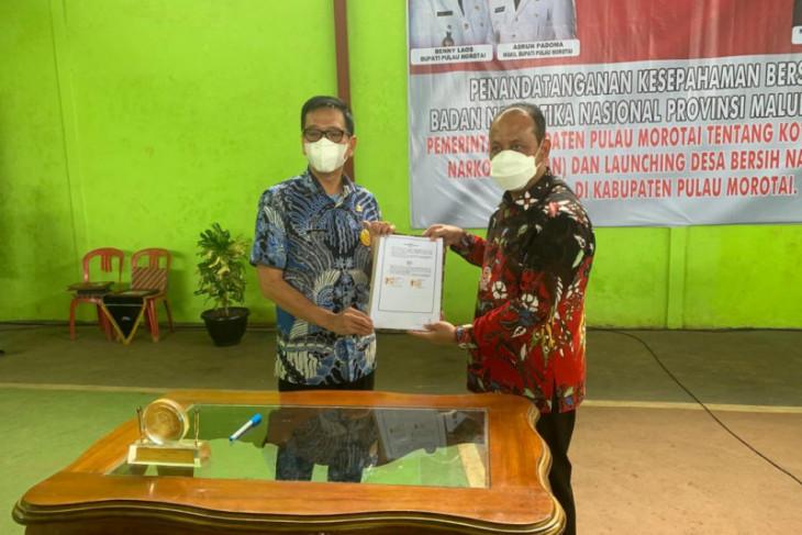 BNNP Malut - Pemkab Pulau Morotai realisasikan program KOTAN selamatkan generasi muda