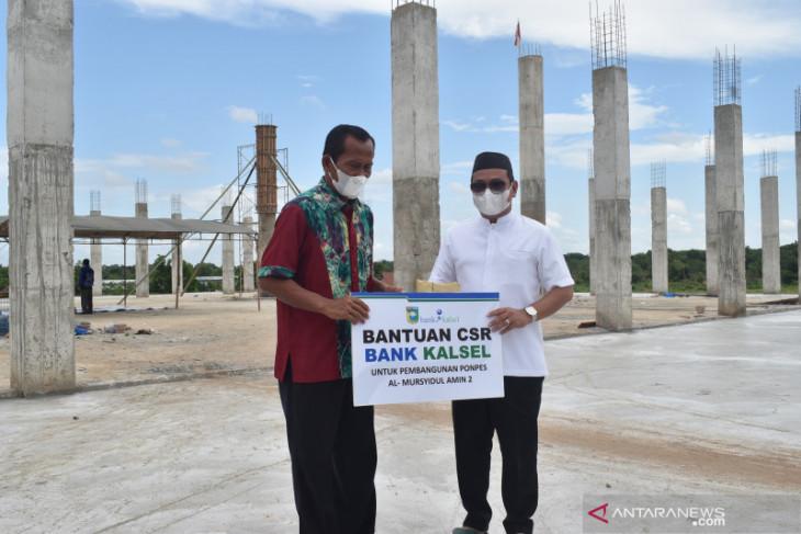 Bupati serahkan CSR pembangunan Masjid Pondok Pesantren Al-Mursyidul Amin 2