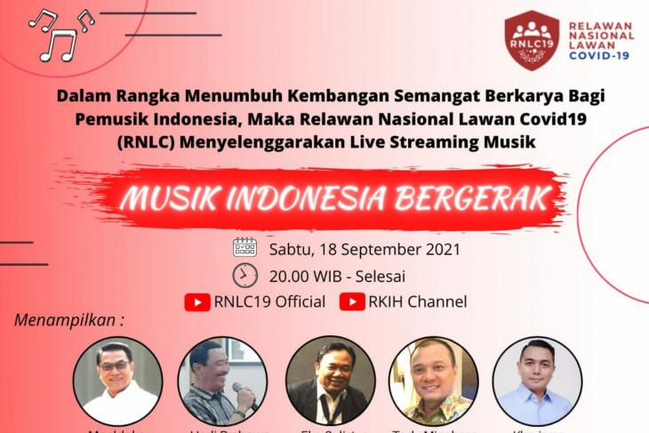 RNLC19 gelar live music streaming untuk kembangkan semangat berkarya