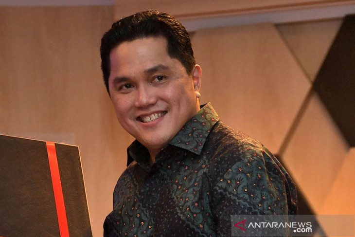 Menteri Erick Thohir terkesan dengan jiwa wirausaha para santri