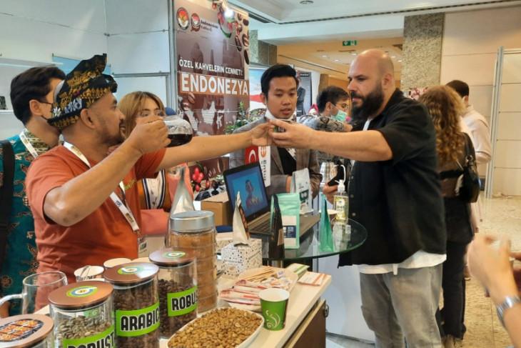 Di Turki, kopi Indonesia terjual 600 ton