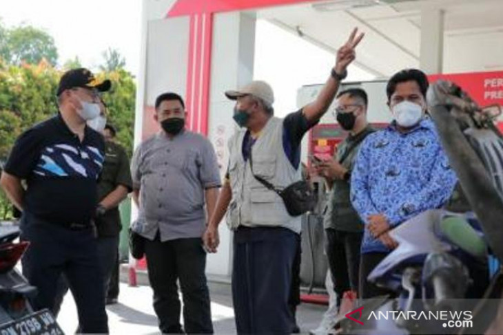 Gubernur Erzaldi: Pertamina tambah pasokan atasi kelangkaan BBM di Belitung