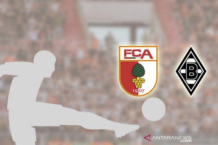 Liga Jerman, Augsburg petik kemenangan perdana saat empat tim berbagi poin