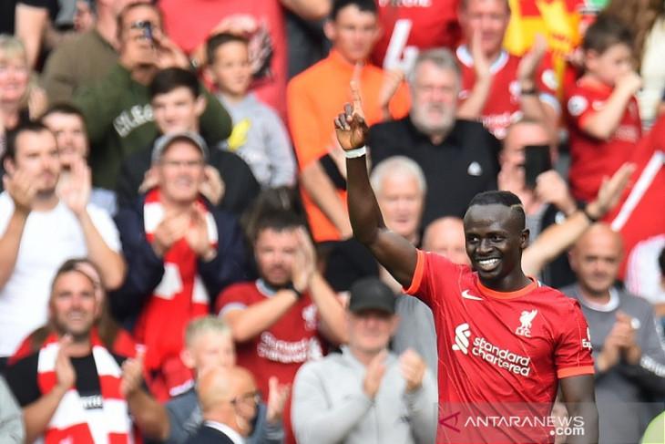 Juergen  Klopp sanjung Sadio Mane setelah Liverpool atasi Crystal Palace