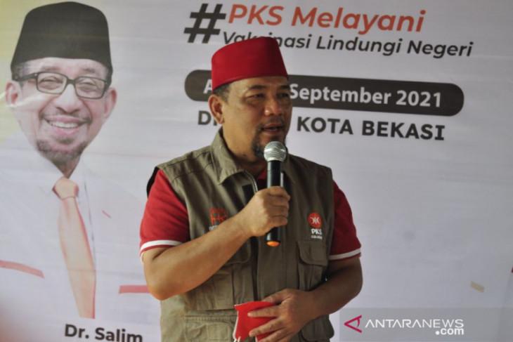 PKS Kota Bekasi gelar vaksinasi massal dorong percepatan kekebalan kelompok