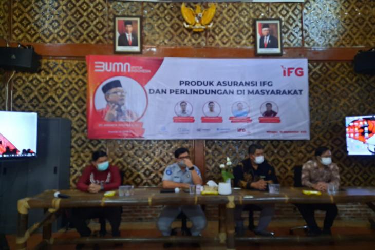 Peran Jasa Raharja dalam kegiatan sosialisasi produk asuransi IFG