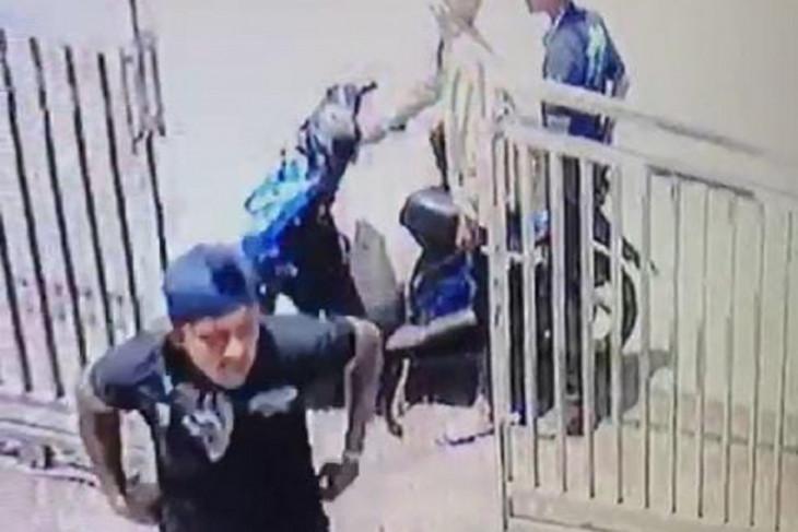 Buronan kasus pencurian di Puskesmas Simpenan  Sukabumi diciduk polisi